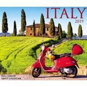 "2019 Willow Creek Press Italy 4.25"" x 5.25"" Box Calendar (03268)"
