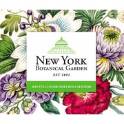 "2019 Willow Creek Press New York Botanical Garden 4.25"" x 5.25"" Box Calendar (03299)"
