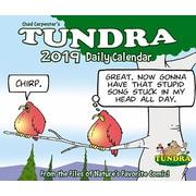 """2019 Willow Creek Press 4.25"""" x 5.25"""" Tundra Box Calendar (03336)"""