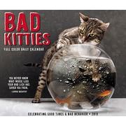 "2019 Willow Creek Press Bad Kitties 4.25"" x 5.25"" Box Calendar (03794)"