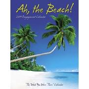 """2019 Willow Creek Press 6.5"""" x 8.5"""" Ah, The Beach Engagement Calendar (03633)"""