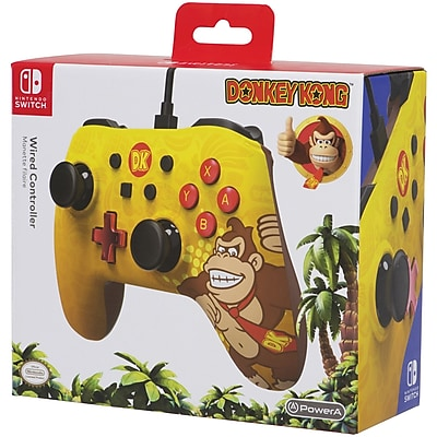 PowerA 1506258-01 Wired Controller for Nintendo Switch (Donkey Kong)