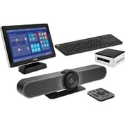 Logitech® Bundle 2 Premium Meetup Kit with Intel NUC, Intel Core i5, 8GB RAM, Windows 10 Pro