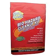 Acme United Spill Magic 8 Piece Biohazard Cleanup Kit (SM-BIOHAZARD)