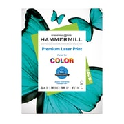 "Hammermill 3 Hole Punch Laser Copy Paper, 8-1/2"" x 11"", 96 Bright, 24 LB, 600 Sheets"
