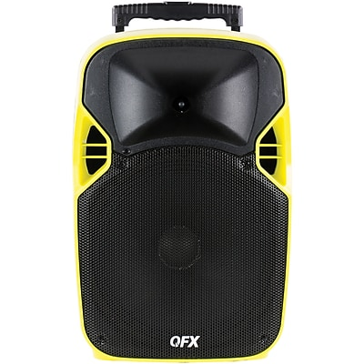 QFX PBX-6000 Mobile Theater Projector Speaker, 12