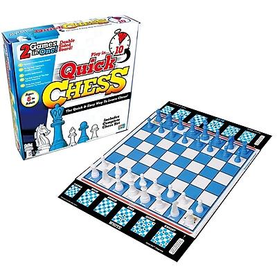 Getta 1 Games Quick Chess Board Game, Math, Gr 2-12 (GTGQG01)