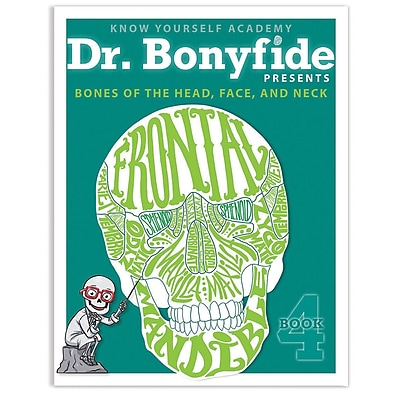 Know Yourself Bones of Head, Face and Skull, Dr. Bonyfide Activity Workbook (KWYDRBBK4EA1)