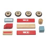 Tegu Wooden Daredevil Block Set, Assorted, 12 Pieces (TEGDDVOGL411T)