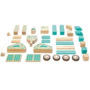 Tegu Wooden Magnetron Block Set, Assorted, 32 Pieces (TEGMSSTL1405T)