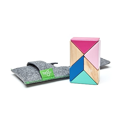 Tegu Magnetic Wooden Blossom Pocket Pouch Prism,