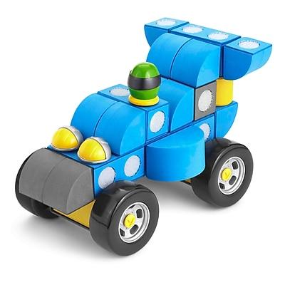 Velcro® Brand FoamBlocks™ Race Car, Assorted (VEC70163)