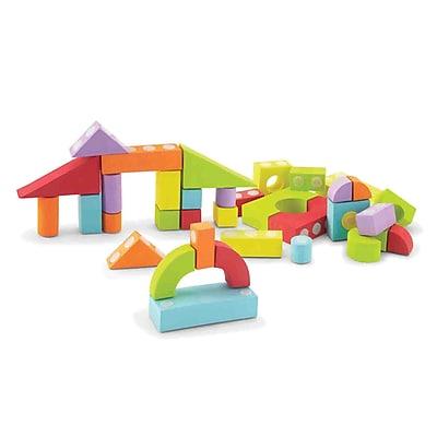 VELCRO® Brand Blocks™ Set, Assorted, 42 Pieces (VEC70183)