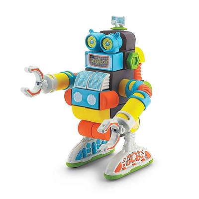 Velcro Foam Brand Blocks Jumbo Robot, Assorted, 40 Pieces (VEC70191)