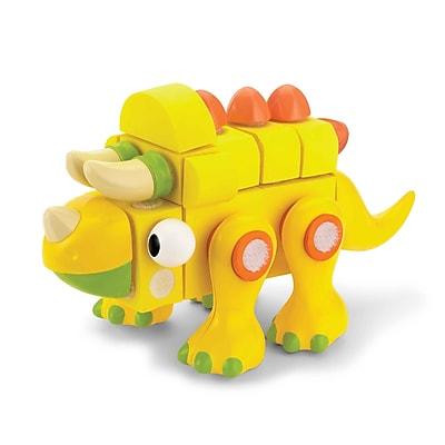 VELCRO Brand Blocks Triceratops, Assorted, 26 Pieces