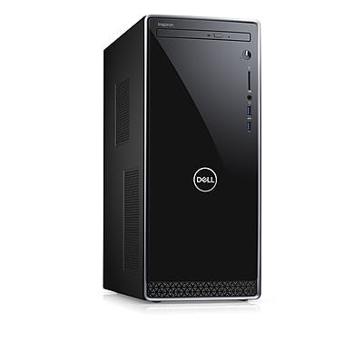 Dell Inspiron Desktop Computer 8th Gen i7+8700, 1TB with 16 GB Optane,8 GB ddr4,Win 10,Intel® UHD Graphics 630