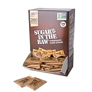 Sugar In The Raw, 200 Packets/Box (50319)