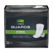 Depend Incontinence Guards for Men, Maximum Absorbency (13792X)