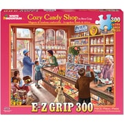 "White Mountain Puzzles Cozy Candy Shop Jigsaw Puzzle 300 Pieces 24""H x 30""W (WM1155)"