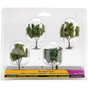 "Woodland Scenic Deciduous Trees 2"" To 3"" 4/Pkg (SP4150)"
