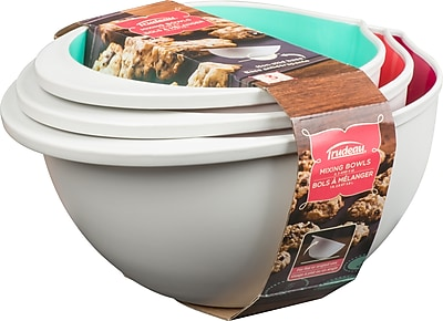 Trudeau Maison Mixing Bowl Set of 3