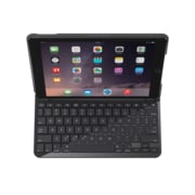 Logitech Slim Folio with integrated Bluetooth keyboard for iPad 9.7 inch (2017), Black (920-009017)