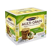 CRUNCHMASTER 5-Seed Multi-Grain Crunchy Oven Baked Crackers, 20 Ounce (220-00757)