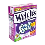 WELCH'S Fruit Rolls Fruit Snacks Variety Pack, 0.75 oz, 42 Count (267-00010)
