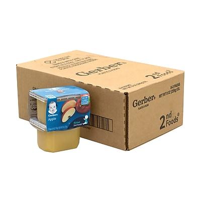 GERBER 2nd Foods Apple Baby Food, 4