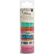 American Crafts Faith, 11/Pkg American Crafts Bible Journaling Washi Tape 5yd Rolls (BJWT-78661)