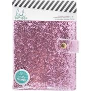 American Crafts Fresh Start, Pink Glitter Heidi Swapp Personal Memory Planner (313921)