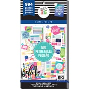 Me & My Big Ideas Faith, 994/Pkg Happy Planner Mini Planner Sticker Value Pack (PPSVM-33)