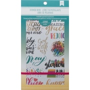 "American Crafts 4.75""W X 9""H Faith American Crafts Planner Stickers 12-Page Book (ACPSB-92992)"
