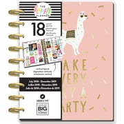 "July 2018-Dec 2019 Me & My Big Ideas 7.75""H x 9.75""W, Happy Planner 18-Month Planner  (PLNR79)"