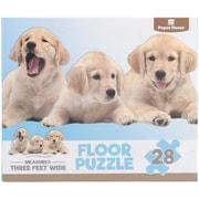 "Paper House Puppies Floor Puzzle 28 Pieces 36""H X 16.5""W (PUZ4003E)"