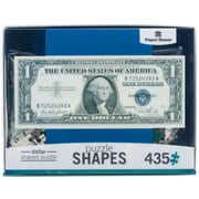 "Paper House Dollar Bill Jigsaw Shaped Puzzle 435 Pieces 29.5""H X 12.5""W (PUZ0051E)"