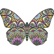 "Paper House Butterfly Jigsaw Shaped Puzzle 371 Pieces 26""H X 18""W (PUZ0047E)"