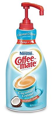 Nestle Coffee-mate Coffee Creamer, Coconut Creme, 1.5L liquid pump bottle