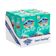 Blue Diamond Oven Roasted Sea Salt Almonds On-The-Go Pouches, 0.625 oz, 42 Count (220-00794)