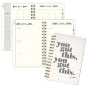 "2019 Emily + Meritt Weekly/Monthly Planner, 12 Months, January Start, 4 7/8"" x 8"", You Got This (EM102-200-19)"