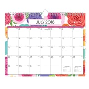 "2018-2019 Blue Sky 15""H x 12""W Monthly Wall Calendar Day Designer Collection (107934-A19)"
