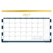 "2018-2019 Blue Sky 17""H x 11""W Desk Pad Day Designer Collection Monthly Calendar (107935-A19)"