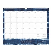 "2018-2019 Blue Sky 15""H x 12""W Monthly Wall Calendar Blue Sky Collection (105413)"