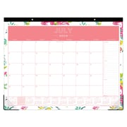 "2018-2019 Blue Sky 22""H x 17""W Monthly Desk Calendar Collection (107938-A19)"