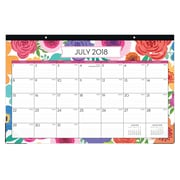 "2018-2019 Blue Sky Desk Pad BS Mahalo 17""H x 11""W  Monthly Trim Tape (107954-A19 )"