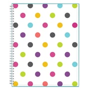 "2018-2019 Blue Sky 8.5""H x11""W Planner Blur Stripe Teacher Dots CYO Weekly/Monthly (100330-A19)"