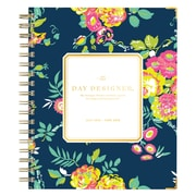 "2018-2019 Blue Sky 7""H x 9""W Planner Day Designer Peyton Navy Matte Weekly/Monthly (107933-A19)"