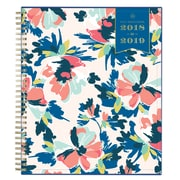 "2018-2019 Blue Sky 8""H x 10""W Planner Day Designer Carrie Floral CYO Monthly (108311)"