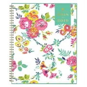 "2018-2019 Blue Sky 8.5""H x 11""W Planner Day Designer Peyton White CYO Weekly/Monthly (107925-A19)"
