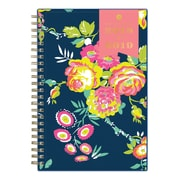 """2018-2019 Blue Sky 5""""H x 8""""W Planner Day Designer Peyton Navy CYO Weekly/Monthly (107927-A19)"""